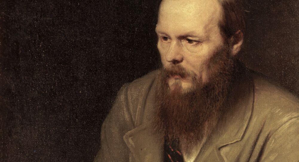 The portrait of Fyodor Dostoyevsky by Vasily Petrov.