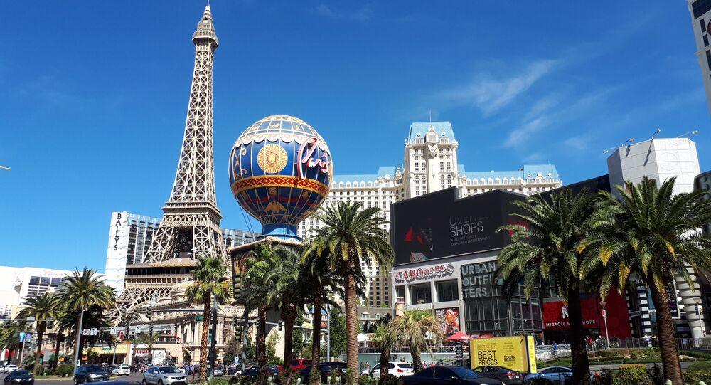 Las Vegas is the world's gambling mecca