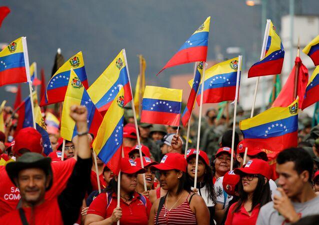 Las banderas de Venezuela