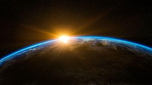 Sunrise in outer space - Sputnik International