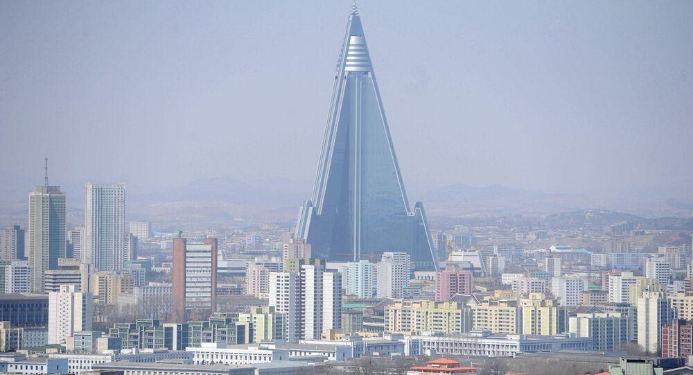 World cities. Pyongyang