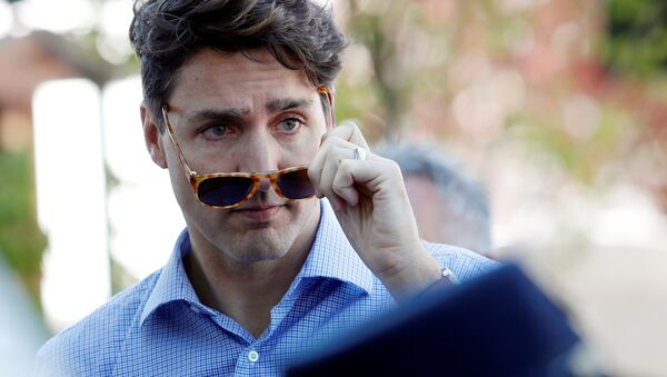 Justin Trudeau - Sputnik International