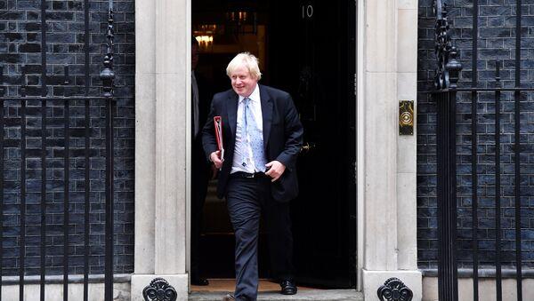 Britain's Foreign Secretary Boris Johnson leaves 10 Downing Street in London, June 7, 2018 - Sputnik International