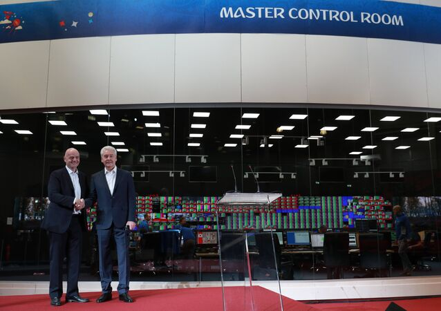 The International Broadcast Center (IBC) opened in Moscow on Saturday ahead of the upcoming FIFA World Cup.