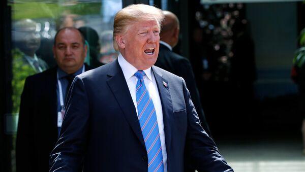Donald Trump, presidente de EEUU - Sputnik International