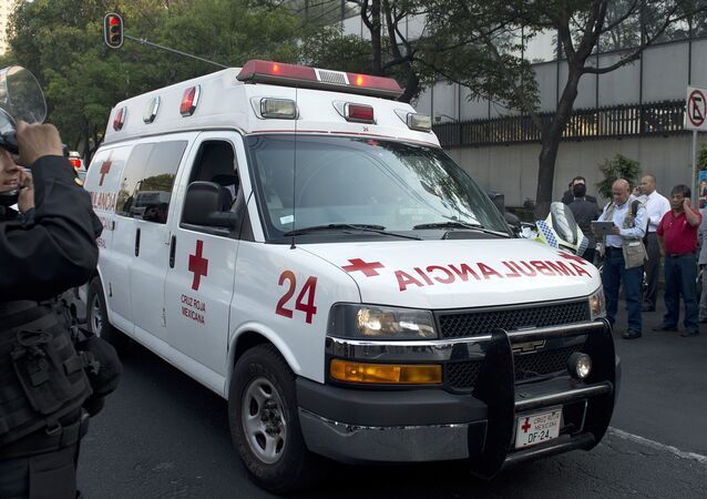 Ambulance in Mexico. File photo