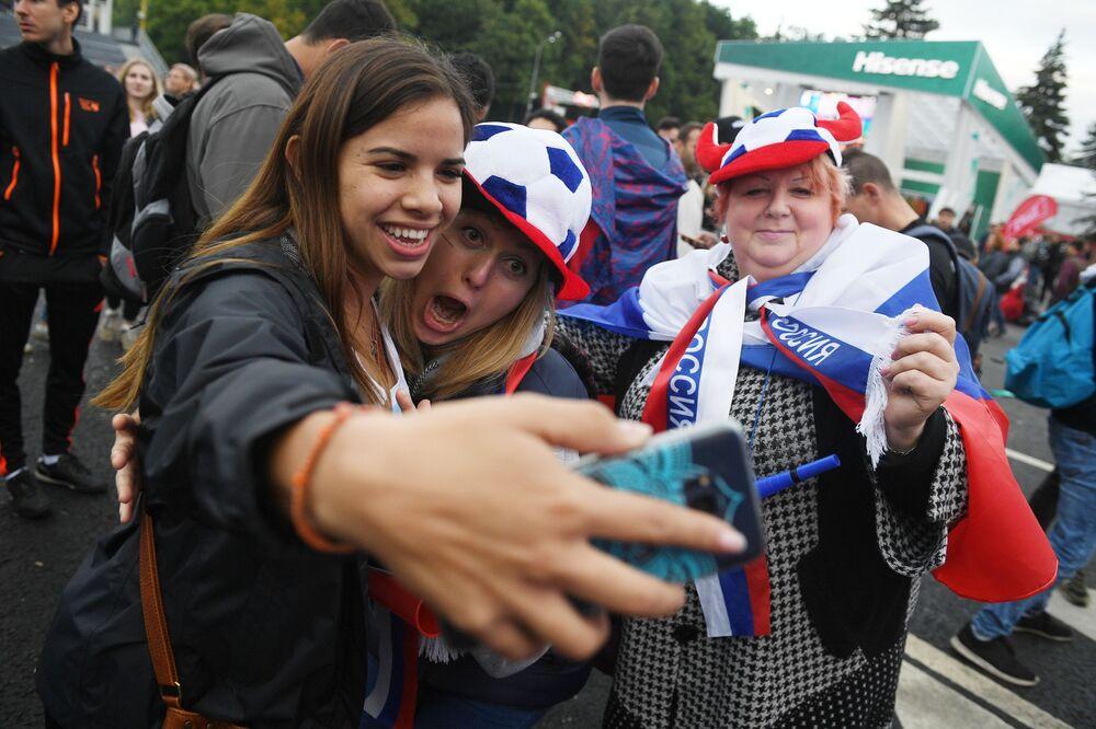 FIFA World Cup 2018 Fan Fest Launch in Moscow