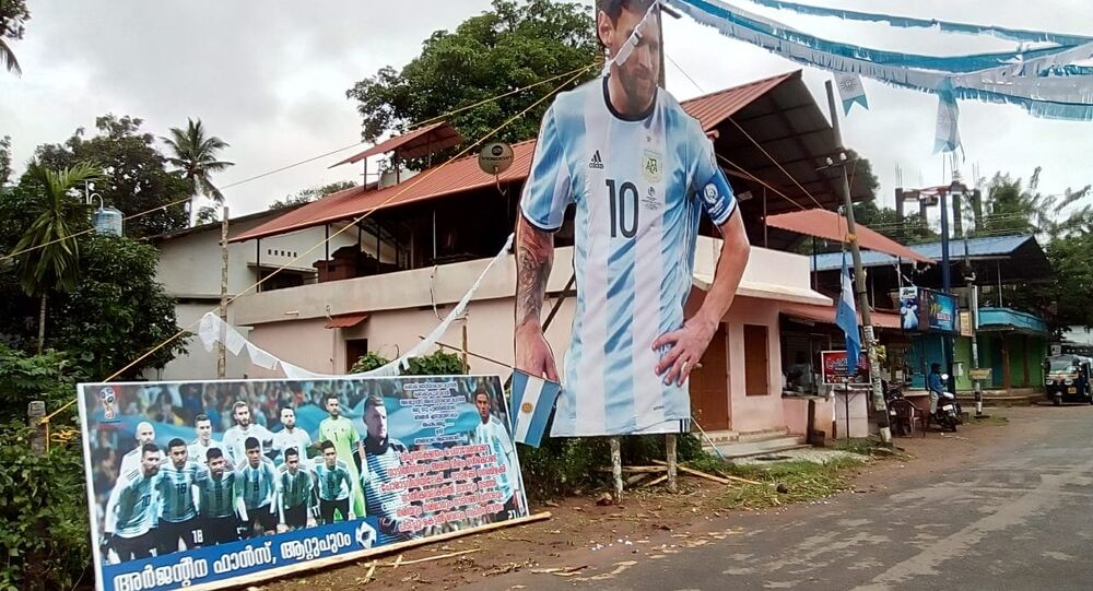 Football Frenzy Grips Indian State