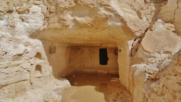 Cave town of Avdat, Negev Desert, Israel - Sputnik International