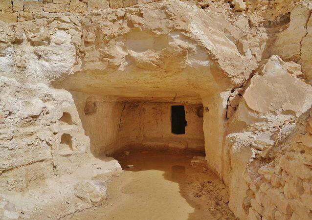 Cave town of Avdat, Negev Desert, Israel