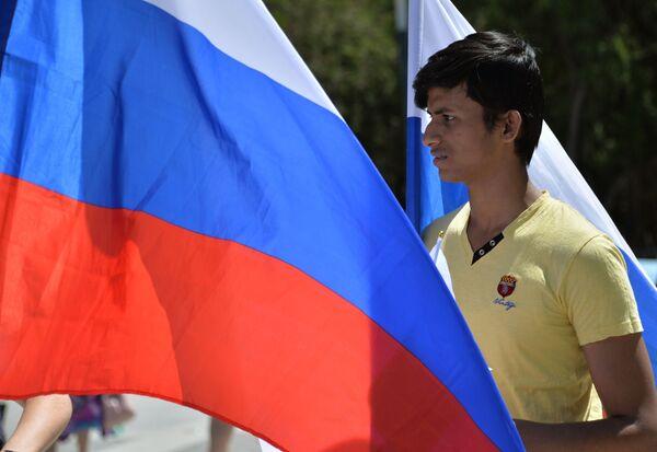 Russians Celebrate National Holiday - Russia Day - Sputnik International