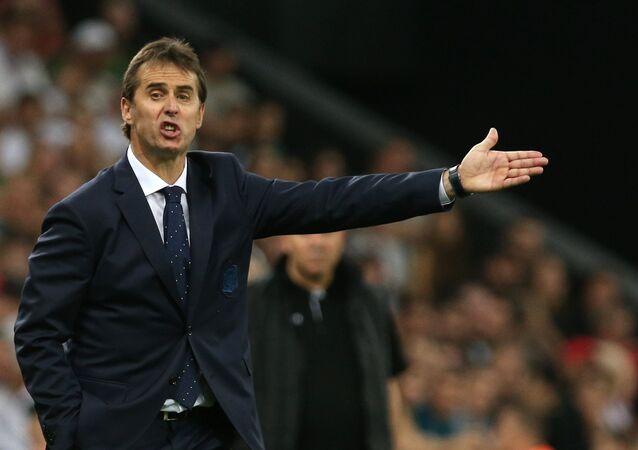 Spain head coach Julen Lopetegui