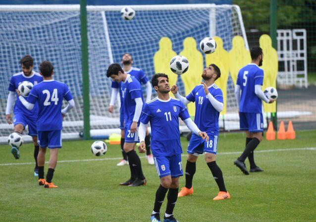 Russia World Cup Iran Training