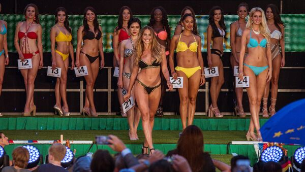 Sporty, Young and Beautiful: Miss World Cup 2018 Contest - Sputnik International