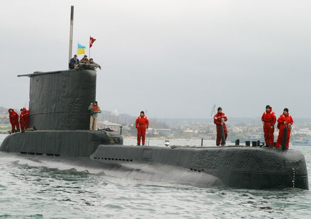 Turkish Yildiray submarine