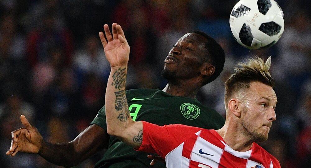Croatia vs Nigeria in teams' first match at FIFA World Cup.