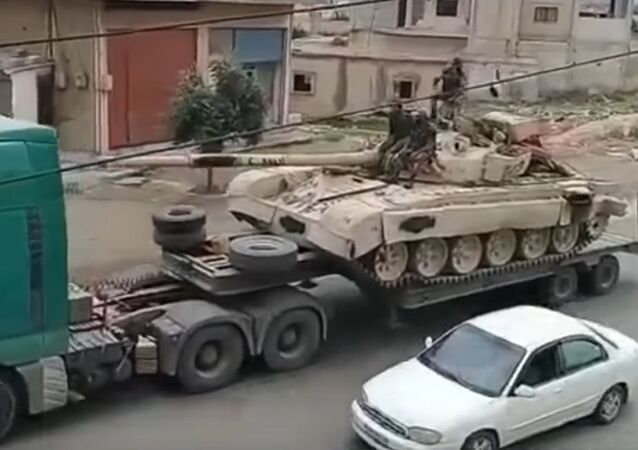 Military reinforcements arriving every day for upcoming Daraa offensive