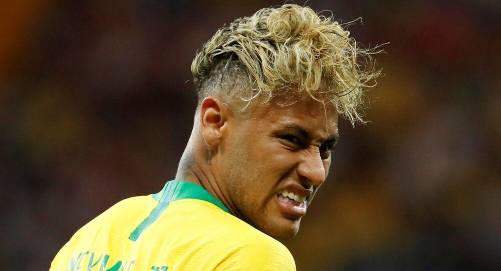 Ronaldo S Scored 4 Goals In World Cup Opposite To Neymar