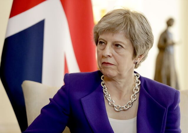 British Prime Minister Theresa May (File)