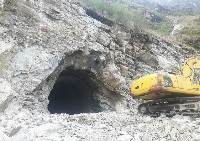 Lot 1 Civil Contractor of Upper Tamaksohi Hydroelectric Project M/s Sinohydro Corporation Ltd succeeded to breakthrough the project access road tunnel for Dam Site yesterday