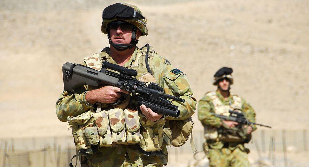 Australian soldiers Afghanistan (File)