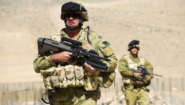 Australian soldiers Afghanistan (File) - Sputnik International
