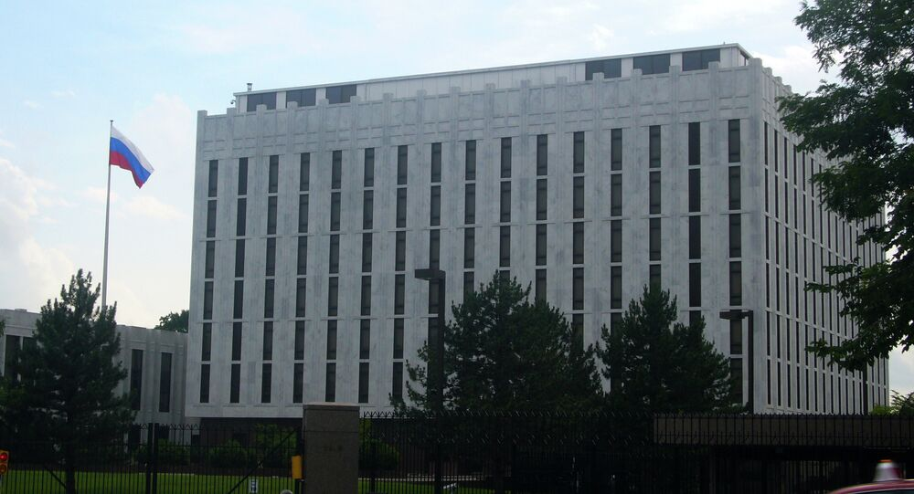 Russian Embassy in Washington, USA