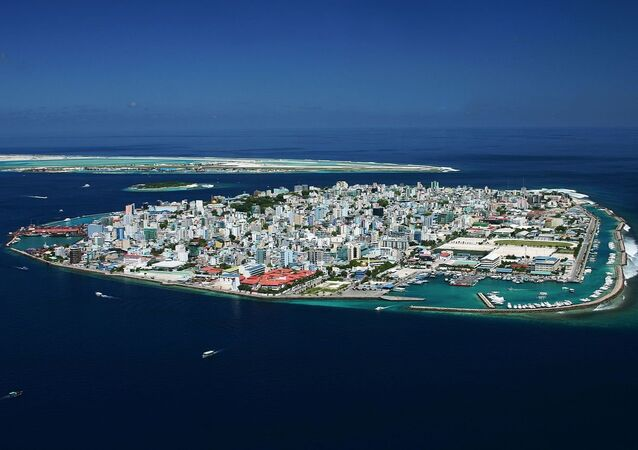 Male, the capital of Maldives