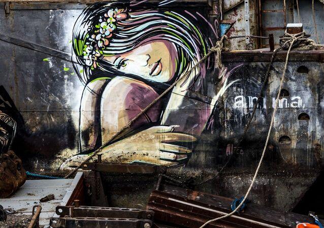 UK Graffiti Street Art
