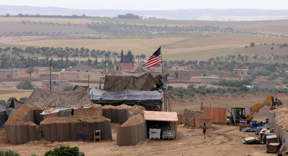U.S. forces set up a new base in Manbij, Syria May 8, 2018