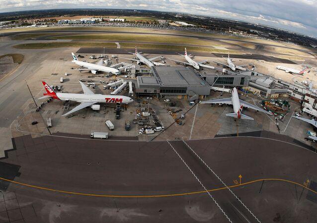 A general view Heathrow Airport near London, Britain October 11, 2016