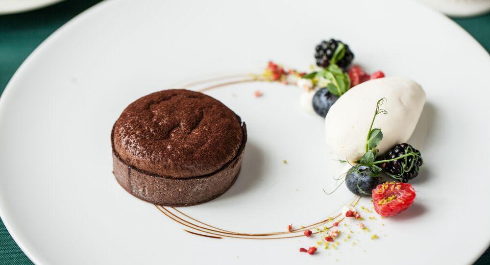 Pushkin's Chocolate cake