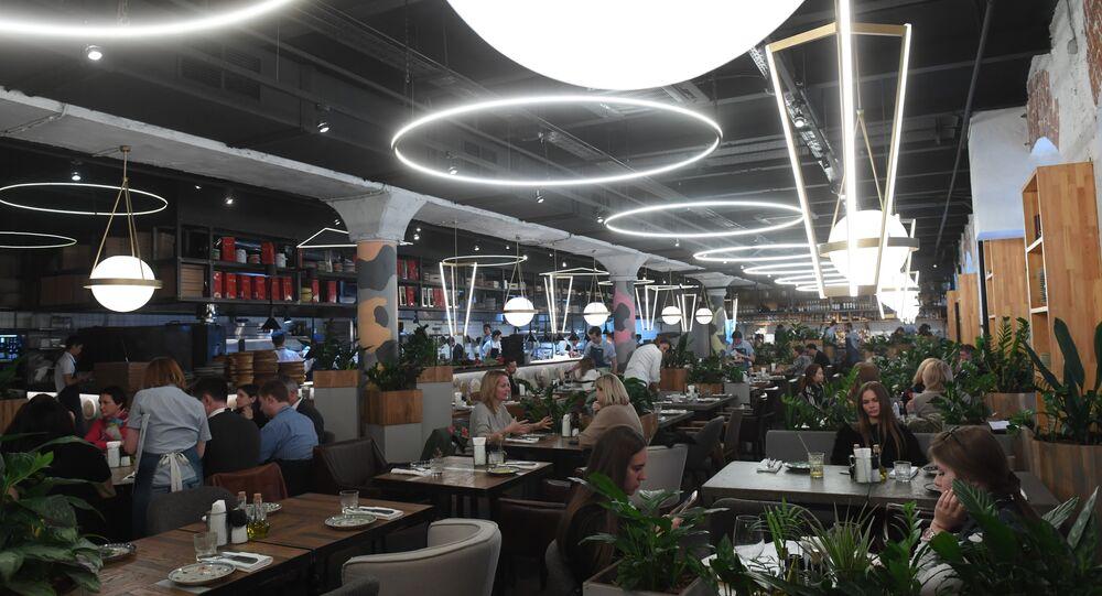 Moscow's Syrovarnya Restaurant