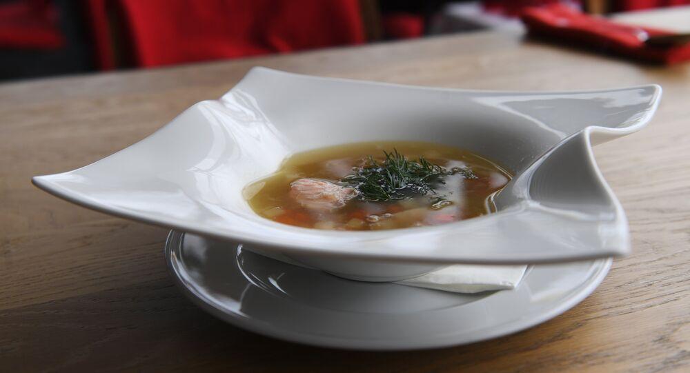 Voronezh Restaurant's Fish soup