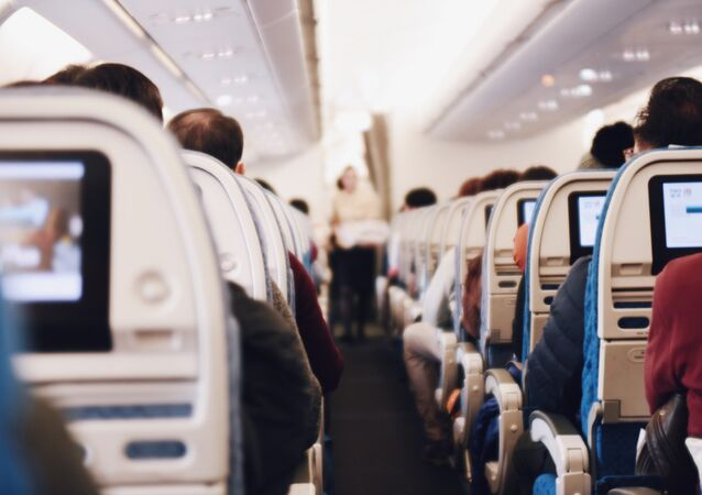 Airliner cabin