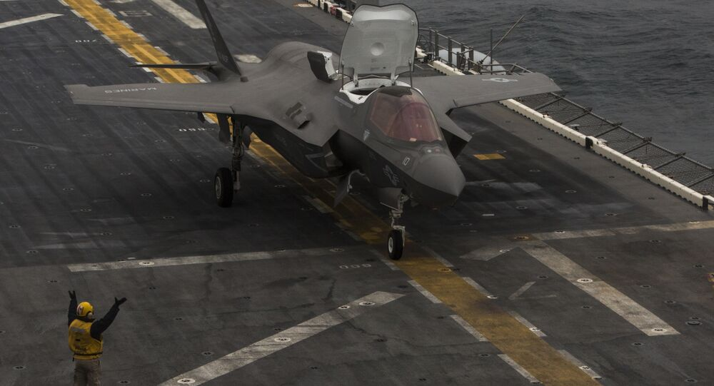 F-35 East China Sea