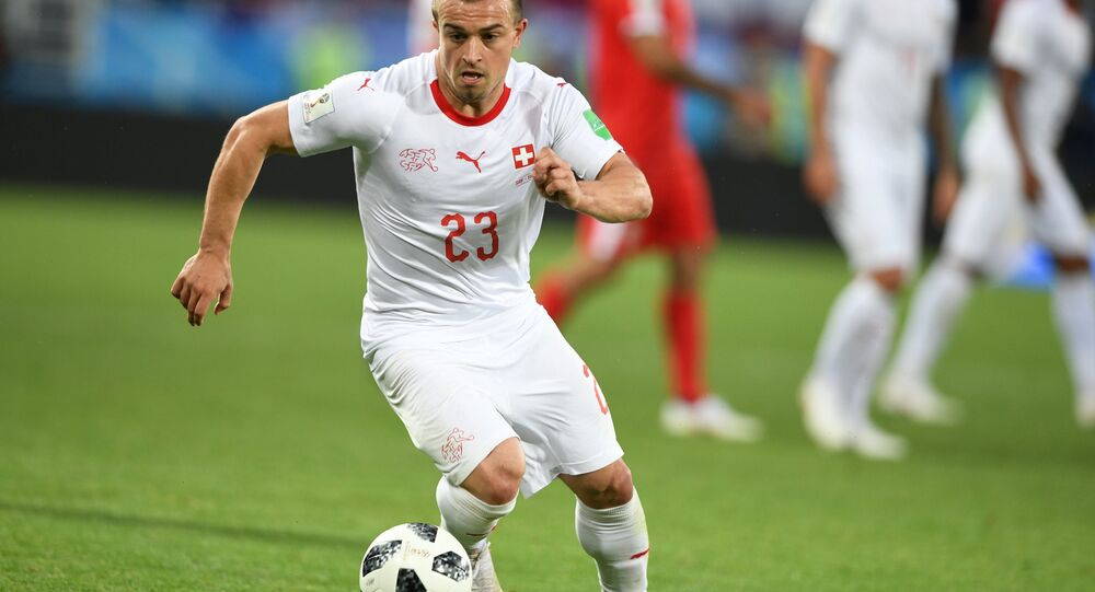 World Cup - Group E - Serbia vs Switzerland - Kaliningrad Stadium, Kaliningrad, Russia - June 22, 2018