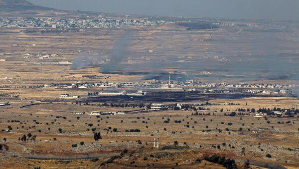 Golan Heights. File photo - Sputnik International