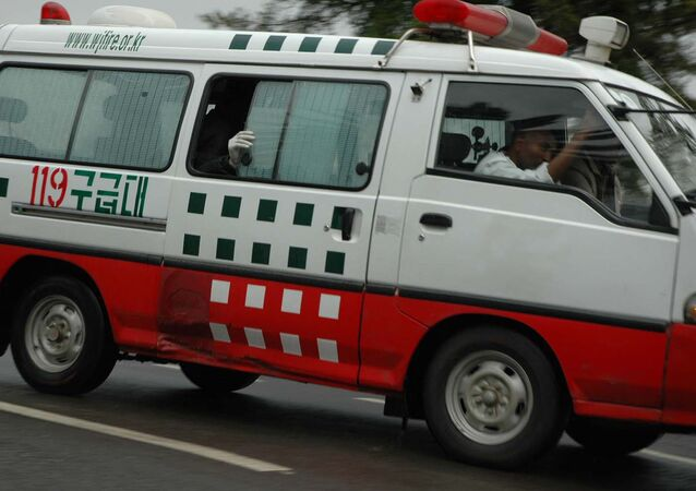 Ambulance in Ethiopia. (File)