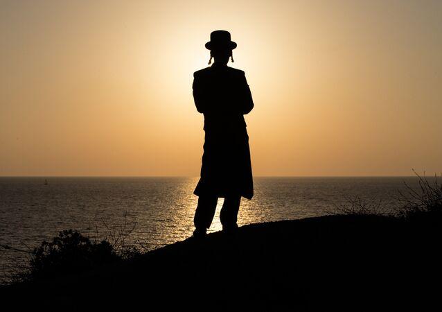 Ultra-Orthodox Jewish man (File)