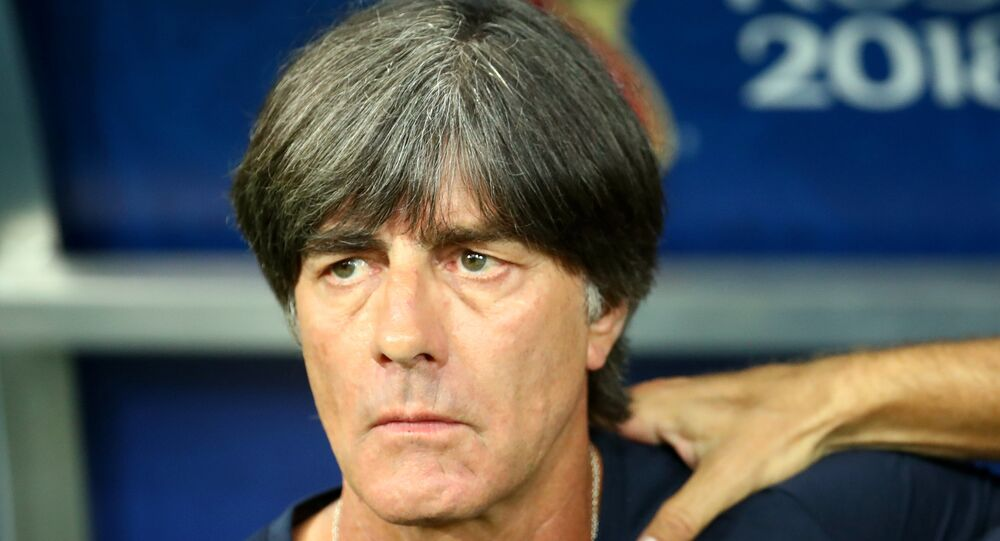 World Cup Group F - Germany vs Sweden - Fisht Stadium, Sochi, Russia - June 23, 2018 Germany coach Joachim Low before the match