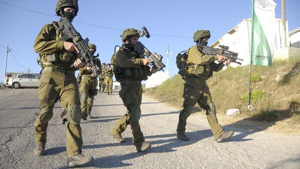 IDF soldiers in the Hebron area - Sputnik International