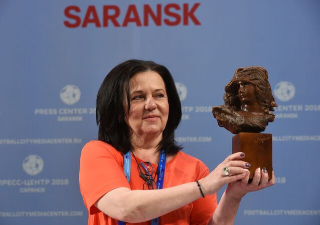 Director of the S.D. Erzia Mordovian Republican Museum of Fine Arts Lyudmila Narbekova