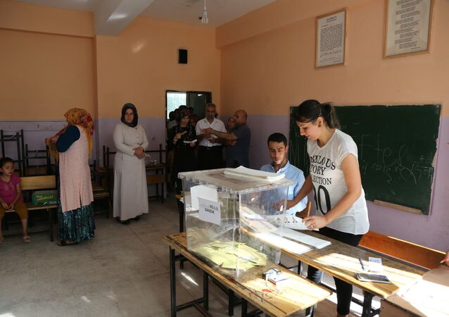 Presidential and parliamentary elections in Turkey