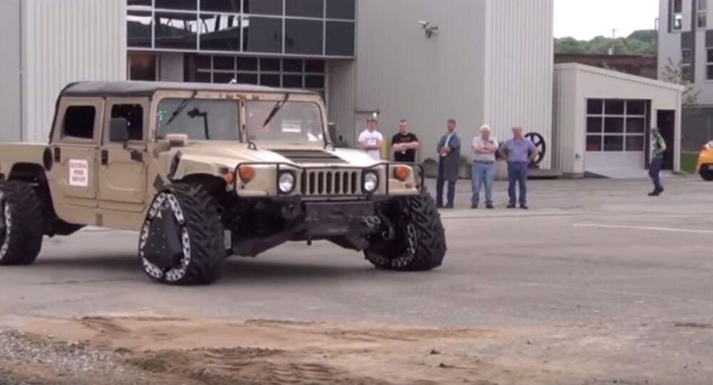 DARPA wheels
