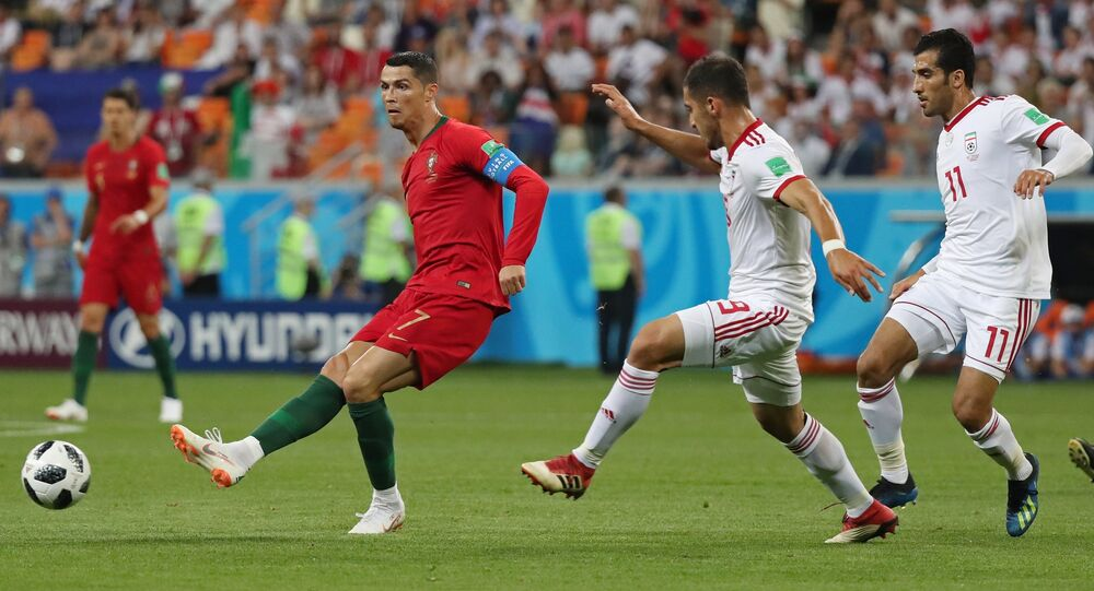 Portugal is facing Iran in Saransk in their final Group B match. Both teams have a chance to reach the knockout stage, as well as Spain, who is currently playing against Morocco.