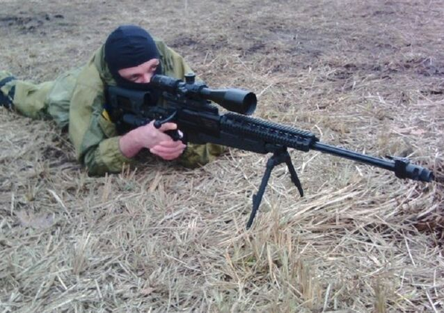 Sergei Sanovsky at the Azov training base outside Kiev.