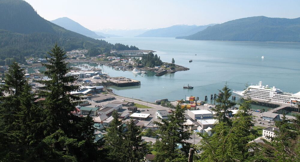 View of Wrangell Alaska