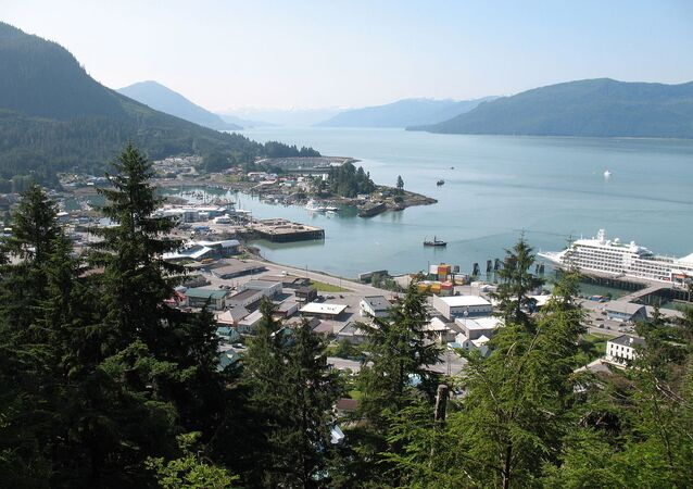 View of Wrangell Alaska