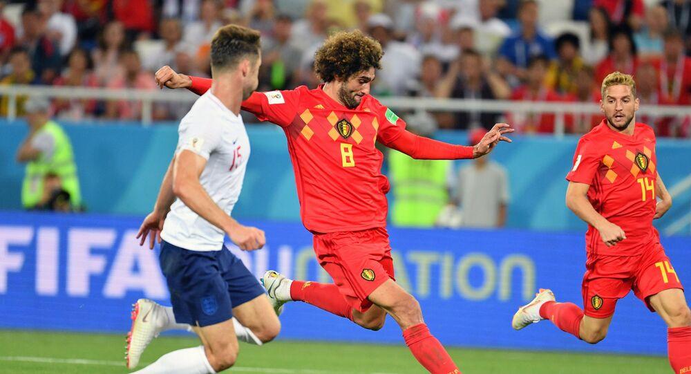 Belgium-England Match at 2018 FIFA World Cup